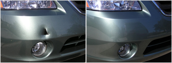 plastic bumper repair