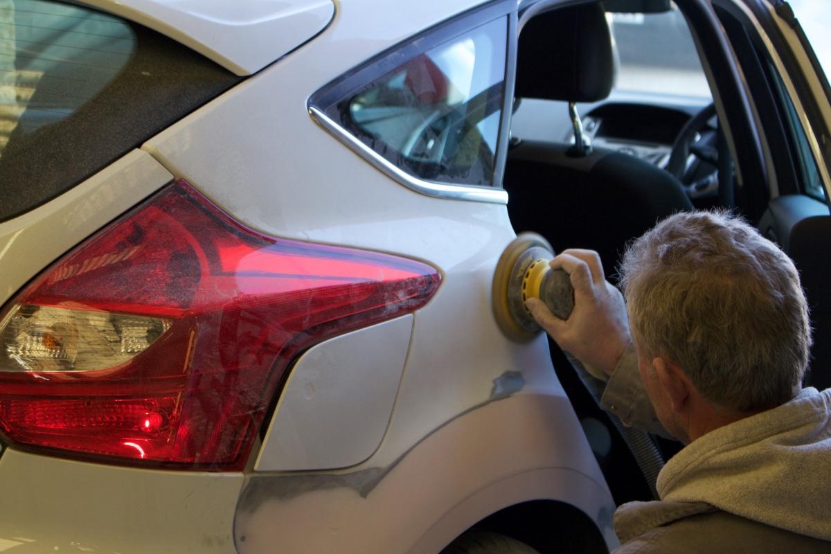 non fault accident repair